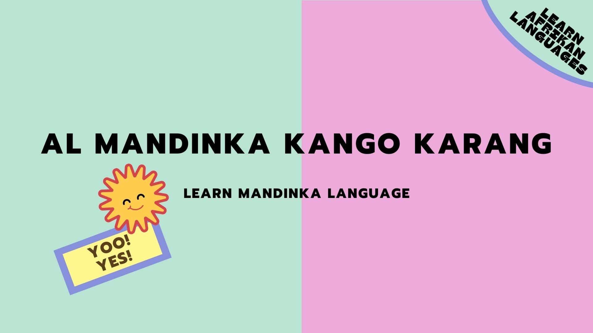 MANDINKA LESSONS
